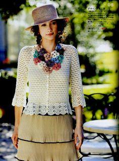 FANATICADELTEJIDO2WEB: blusa primaveral