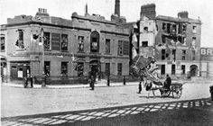 The Old Liberty Hall, Dublin City after the 1916 Easter Rising. Ireland Pictures, Old Pictures, Old Photos, Dublin Street, Dublin City, Gone Days, Easter Rising, Dublin Ireland, England Uk