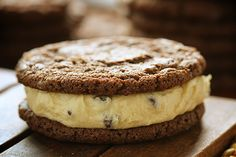 chocolate cookie dough sandwich cookies
