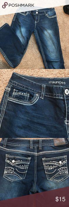 Maurices bootcut jeans Maurice's dark wash bootcut jeans size 9/10 regular Maurices Jeans Boot Cut