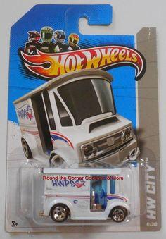 2013 Hot Wheels Treasure Hunt Bread Box #41/250 HW City Hidden Regular TH #HotWheels #BreadBox