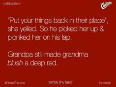 Deep red.