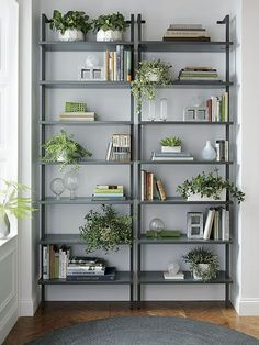 "There is nothing to be hesitant when it comes to realizing the thought. You have probably heard the ""Do It Yourself"" approach, right? Simply apply it and set up your dream home library.#modern #bookcase #bookshelf"