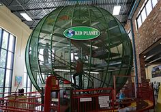 Climb up the 3-story Kid Planet at the world's only Museum of Clean in Pocatello, Idaho.