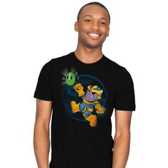 Super Villain Exclusive T-Shirt - Thanos T-Shirt is $18 at Ript!