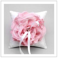 Unique wedding ring pillow...