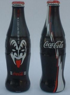 Coca Cola Kiss. Another superstar bottle