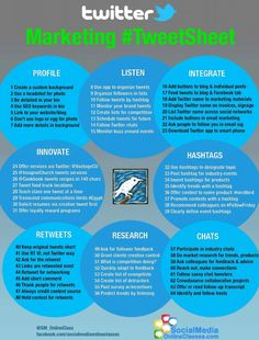 Created this #TweetSheet infographic to help small biz owners market themselves. Love the blue, lime green, and grey.