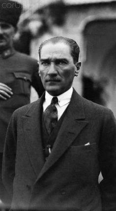 Turkish President Mustapha Kemal Ataturk