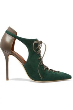 EUROPEAN WINTER FASHION 2016 LACE UP DESIGN HIGH HEELS 20 GREEN RED GOLD BROWN US$119.00