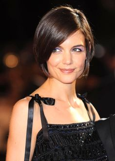 Pleasing Katie Holmes Katie O39Malley And Short Bob Hairstyles On Pinterest Short Hairstyles Gunalazisus