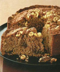 Receta para Torta de Canela, Nutella y Avellanas