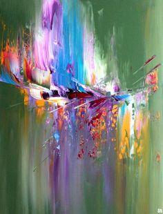 Peinture acrylique sur toile - 80 x 60 cm #reve #onirisme