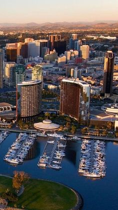 San Diego, California, Usa, Americas, Port, Yacht,  Skyscrapers http://www.vacationrentalpeople.com/vacation-rentals.aspx/World/USA/California/San-Diego-County