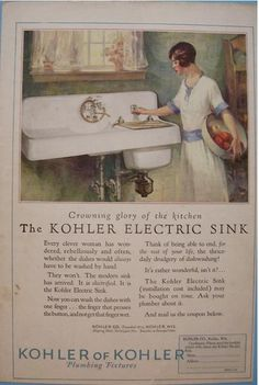 1937 G. Electric Sink - I just brought it home.whom ever decided dishes should leave the sink to go in a dishwasher was a menace lol