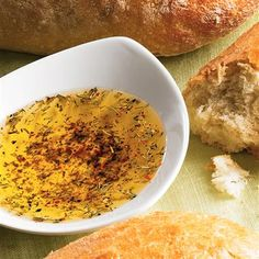 Bread Dipping Olive Oil from McCormick's - look at the Herb Bread Dipping Oil below the original recipe on this website.
