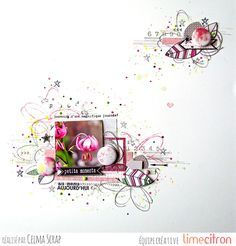 Lime Citron: Petits moments | Celma Scrap