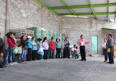 Arranca programa de vivienda digna, alcalde de Zacatelco da banderazo