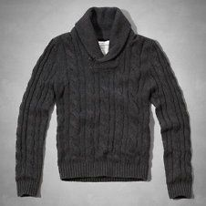 Mens shawl collar sweater | Abercrombie.com