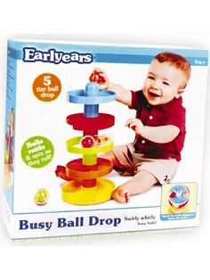 Picture of early-years-busy-ball-drop-activity-toy, 9+ mos $18.00