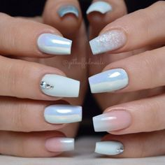 Elegant Coffin Nails With Gradient Accent ❤ 35+ Outstanding Short Coffin Nails Design Ideas For All Tastes ❤ See more ideas on our blog!! #naildesignsjournal #nails #nailart #naildesigns #nailshapes #coffinnails #ballerinanailshape #shortcoffinnails Cute Acrylic Nails, Cute Nail Art, Acrylic Nail Designs, Tie Dye Nails, Short Nails Art, Coffin Shape Nails, Polka Dot Nails, Luxury Nails, Short Nail Designs