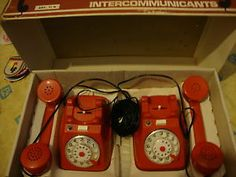 vintage 1960's toys | Details about VINTAGE LATE RARE 1960S 1970S TOY RED TELEPHONE SET ...