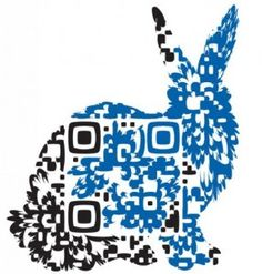 One of the more interesting QR designs I have ever seen.  Even with all that modification, it still works - design-qr-code-hase