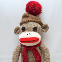 Who can resist a sock monkey??