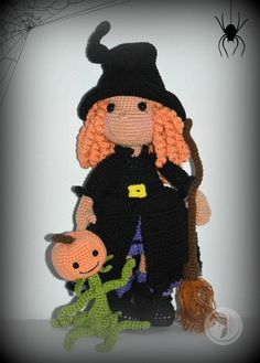 Little Witch Doll pattern by AmigurumiBB coming soon!