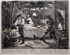 Cabinet 01, Hogarth, A Quick Stab at the Eighteenth Century