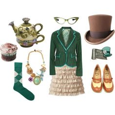 Mad Hatter outfit #wonderland #alice #tea #party