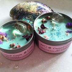 MYSTIC UNICORN Coconut Coven Crystal Candle