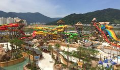 Lotte #WaterPark,#Busan #Korea