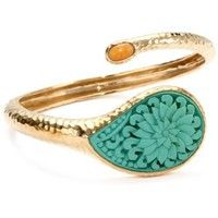 Bronzed by Barse Turquoise Cinnabar Bracelet - endless.com