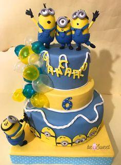 torta minion by BeSweet