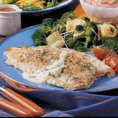 Trout baked in cream! This is one if my go to recipes !