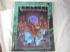 Vampire StoryTellers Handbook Publisher White Wolf WW 2304 Dated 2000 Hard Cover Book - http://raise.bid/store/books/storytellers-handbook-publisher/