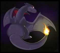 Shiny charizard by fluffysheeps