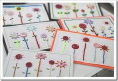 Needle Arts badge craft: stitched applique
