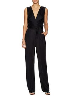 Rene Wrapped V-Neck Romper by Issa at Gilt