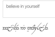 Elvish for the wrist