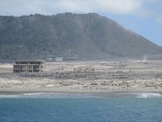 Plymouth,+destroyed+by+volcano,+Montserrat