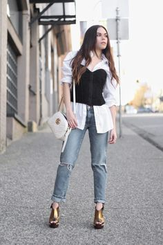 How to Wear the Corset Trend For styling tips visit: http://www.andshedressed.com