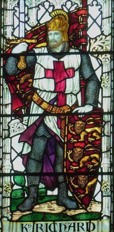 King Richard I, Lionheart. Salisbury, St Thomas.