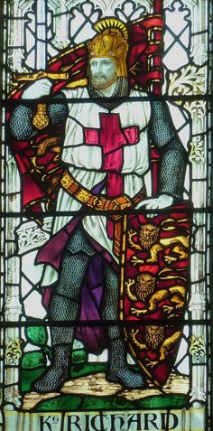 King Richard I, Lionheart. Salisbury, St Thomas.