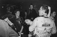 Punks at the Roxy, London 1977. Photo by Richard Braine.