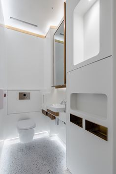 Luxury Toilet, Beauty Clinic, Public Bathrooms, Workplace Design, Round Corner, Indoor Air Quality, Car Parking, Bathroom Lighting, Custom Design