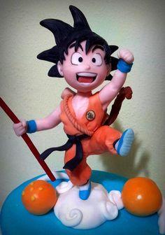 1000+ images about Goku cakes on Pinterest | Goku, Dragon ...