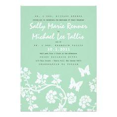 modern wedding invitations - Google Search