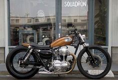 Für mich einer der schönsten XS650 von Mr. Brat Style    ...